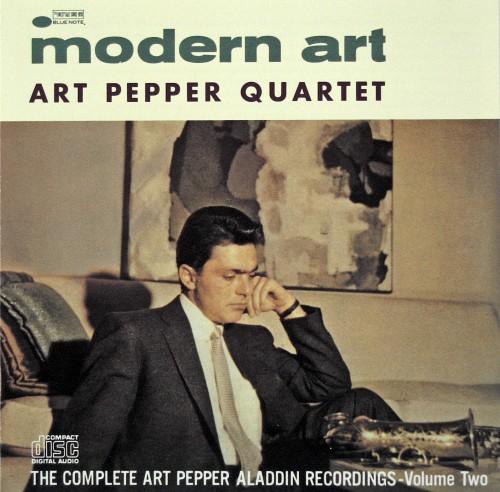 アート・ペッパー『モダン・アート』1956, 1957
