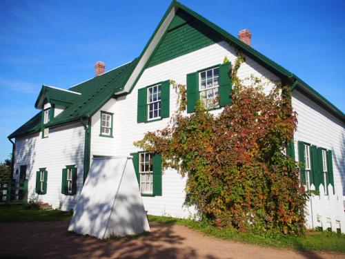 「緑の切妻屋根」Green Gables